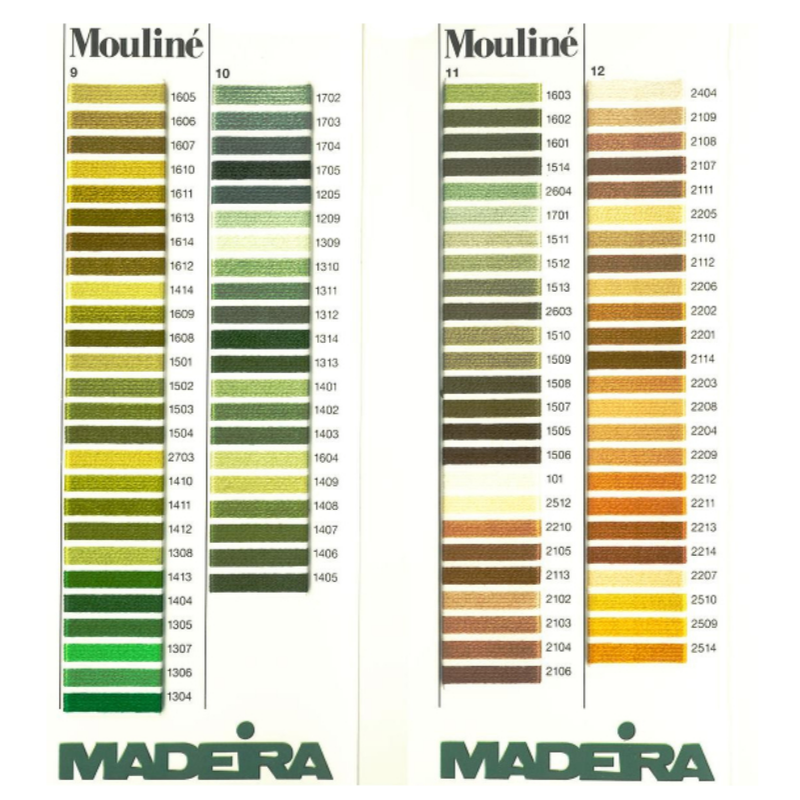 MADEIRA Mouline Stranded Cotton Embroidery Floss 10m Colour 2210