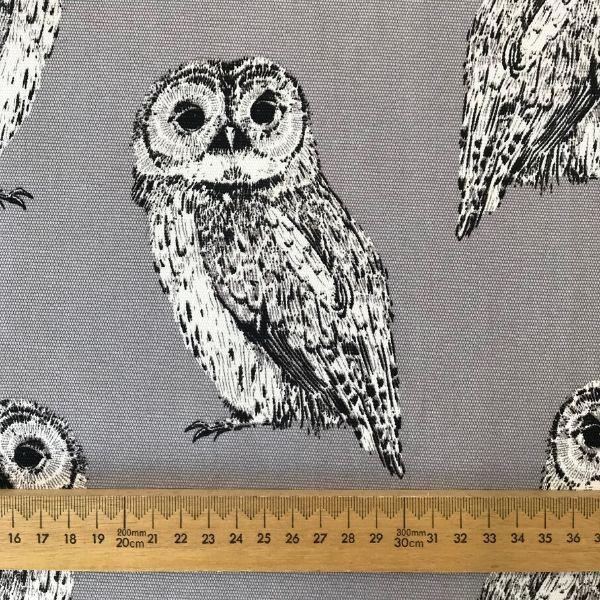 Printed Canvas Night Owl Ackroyd And Adams Ltd